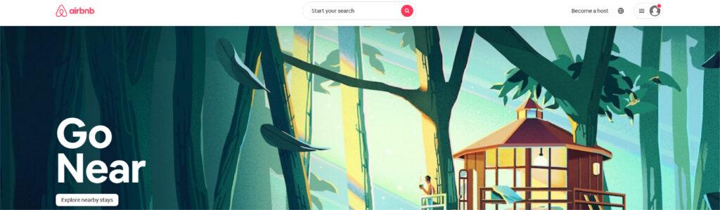 Airbnb at visualdesigninc